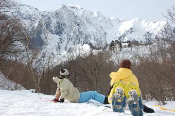 <span>冬限定 写真データ無料プレゼント</span> 群馬旅行&スノーシュー体験の思い出は胸の中に、でも形にも残したい!
